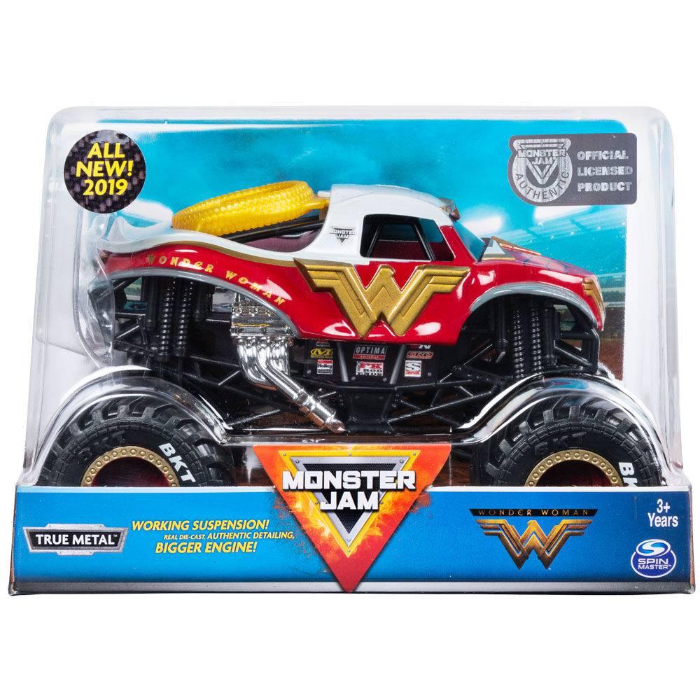 Veículo Monster Jam - Escala 1:24  Wonder Woman 2022 - Sunny