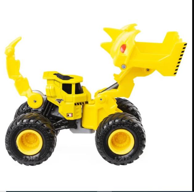 Veículo Monster Jam Escala 1:64 Dirt Squad Scoopz - Sunny 2027