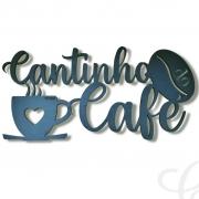 Quadro para Cozinha Gourmet Placa Decorativa Cantinho do Café