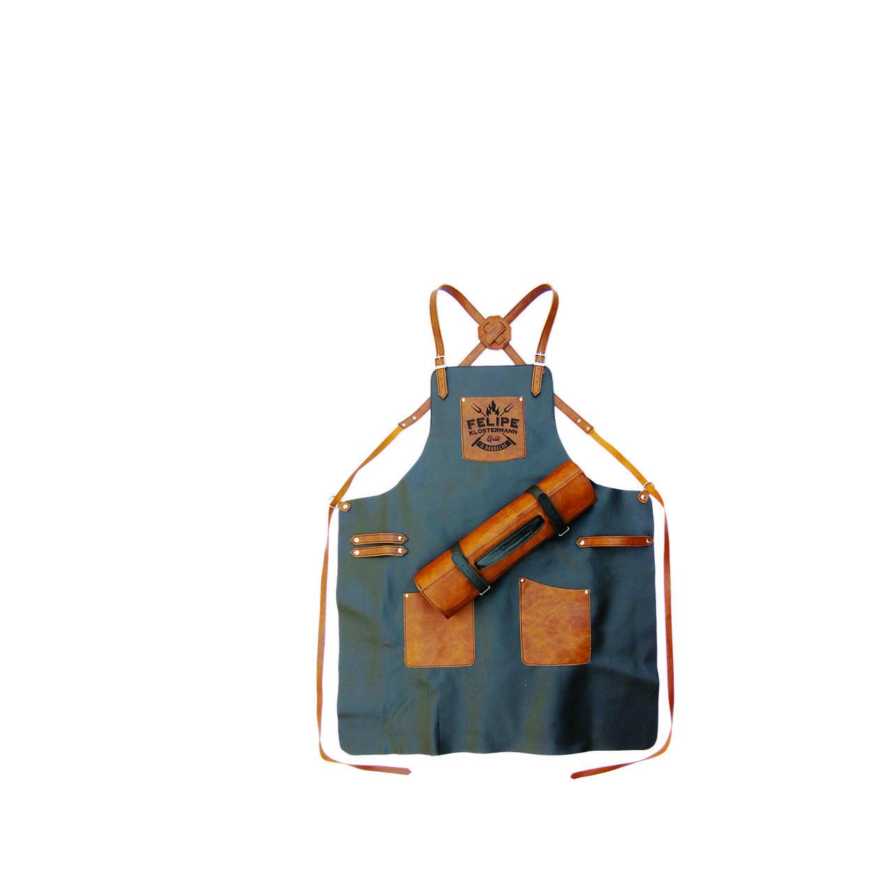 Avental Personalizado e Estojo para 7 peças de até 43cm