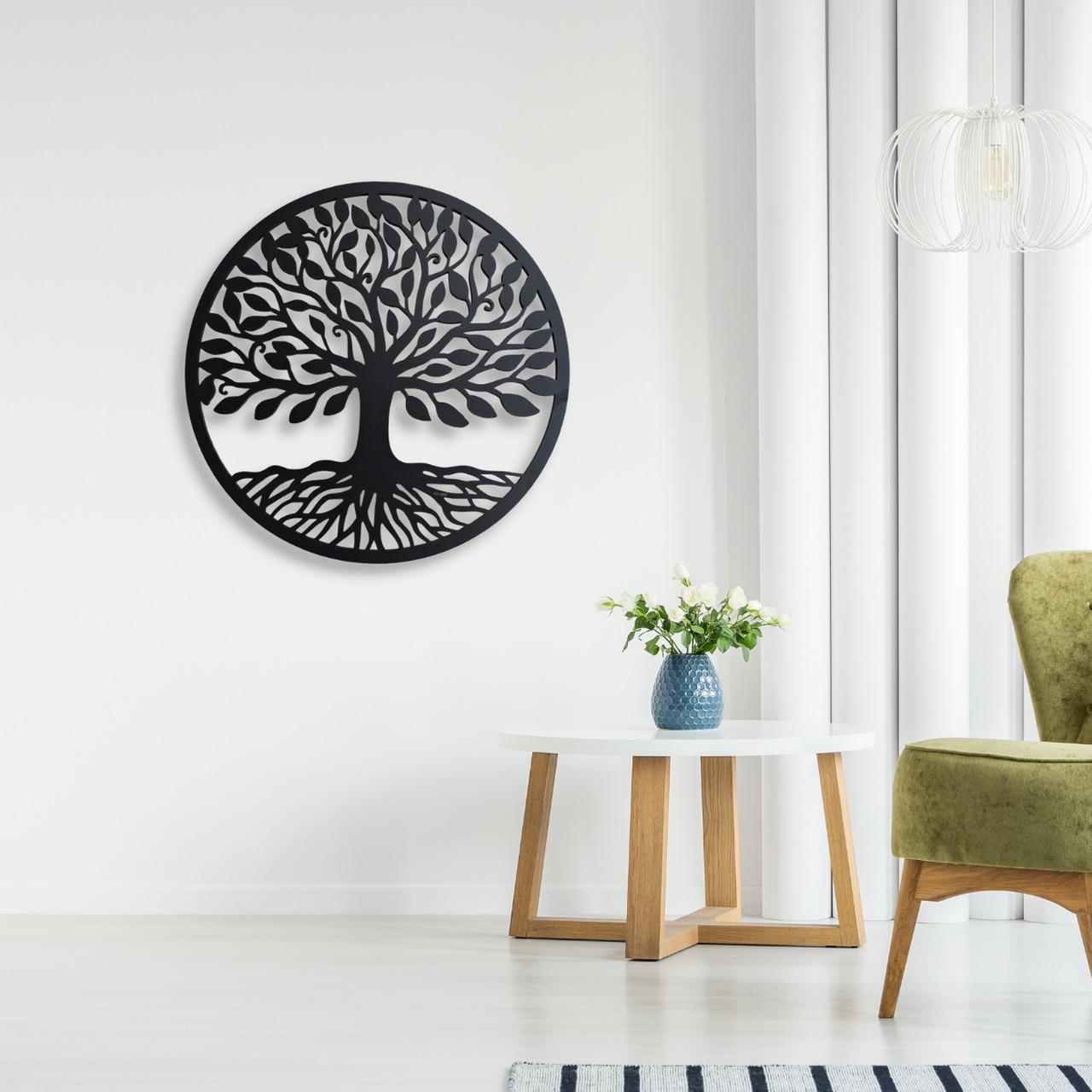 Mandala Decorativa Árvore da Vida Sala Quarto