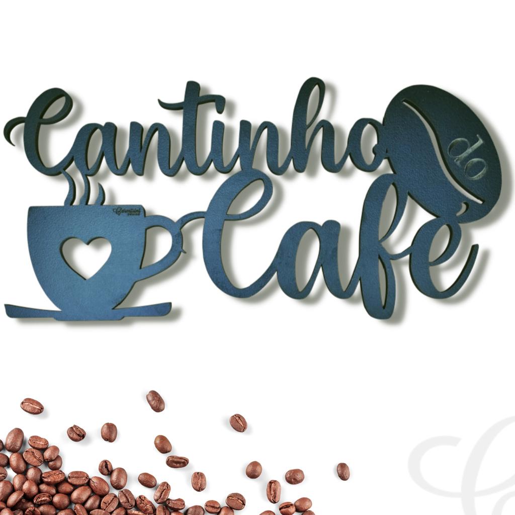 Quadro Decorativo Cantinho do Café