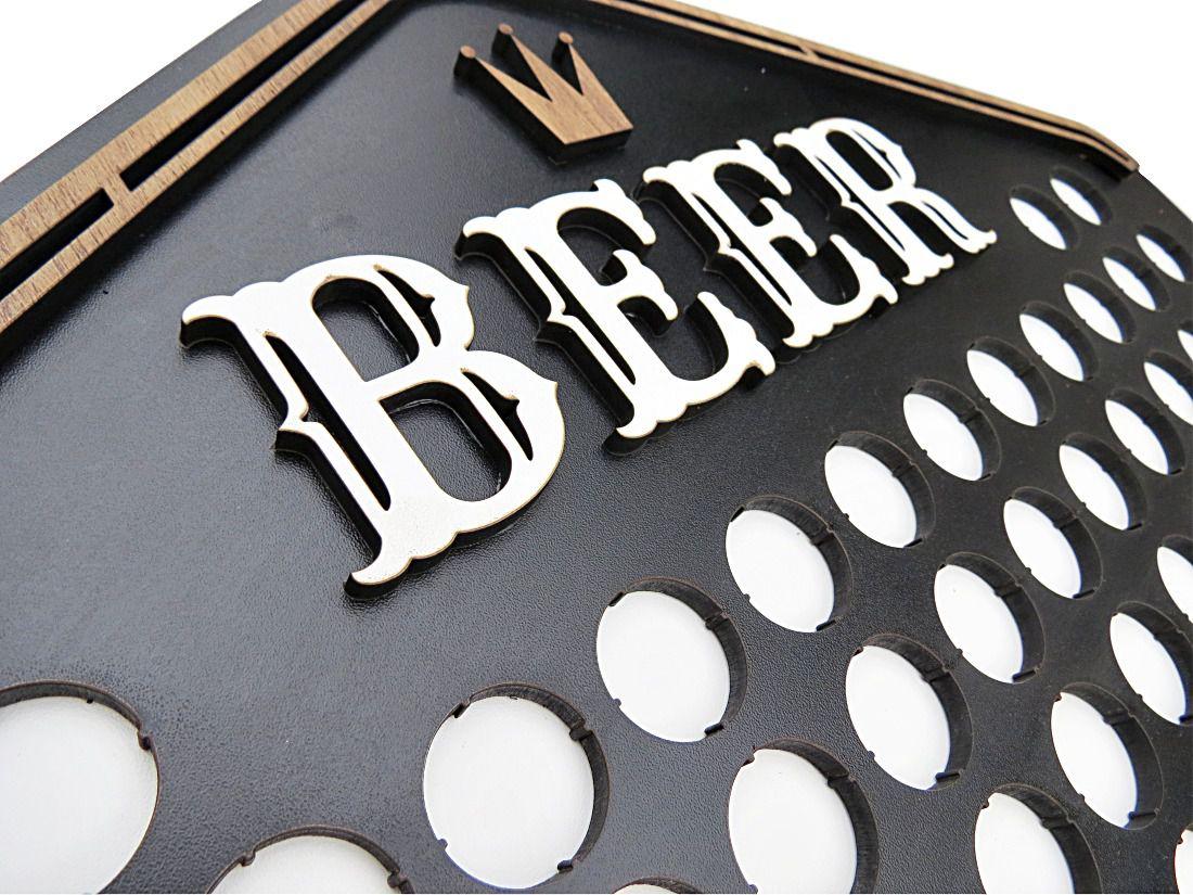 Quadro Porta Tampinha de Cerveja