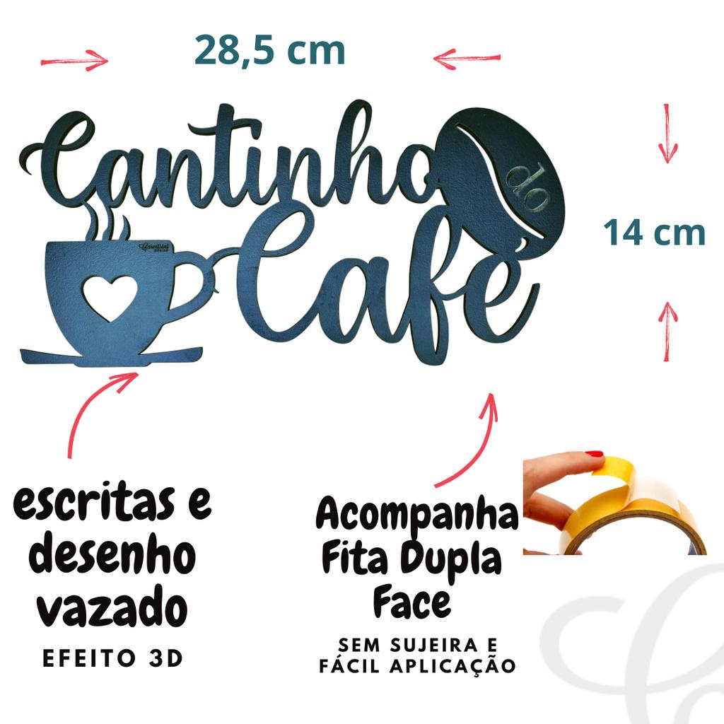 Quadros para Decorar Cozinha Cantinho do Café Cozinha MDF