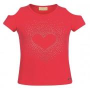 Blusa ombro vazado coração - Vrasalon