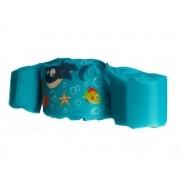 Boia colete infantil azul tubarão - KaBaby
