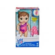 Boneca Baby Alive Banhos carinhosos morena 3+ anos - Hasbro