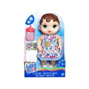 Boneca Baby Alive hora do xixi morena 3+ anos - Hasbro