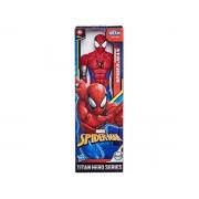 Boneco Titan Hero Marvel Spider Man Warriors 4+ anos - Hasbro