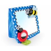 Brinquedo espelho de piso com texturas 0+ meses - Sassy