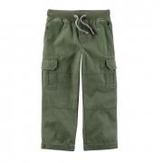 Calça cargo verde oliva - Carter's