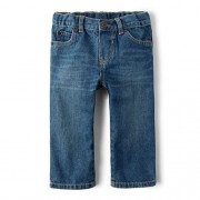 Calça jeans azul straight - The Children's Place