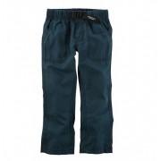 Calça popeline azul com fivela - Carter's