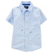 Camisa manga curta Picnic - OshKosh