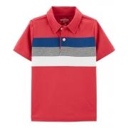 Camisa polo vermelha com listras - OshKosh
