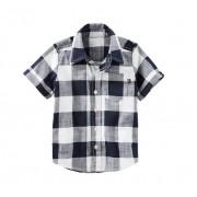 Camisa xadrez manga curta - OshKosh