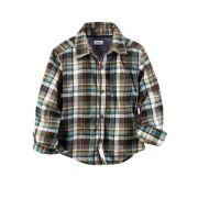 Camisa xadrez manga longa - Carter's