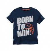 Camiseta Born to Win - Carter's