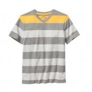 Camiseta manga curta cinza listrada - GAP