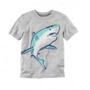 Camiseta manga curta Tubarão - Carter's