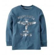 Camiseta manga longa avião - Carter's