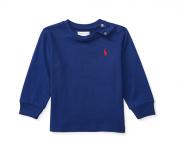 Camiseta manga longa azul - Ralph Lauren