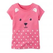 Camiseta rosa urso - Carter's