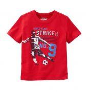 Camiseta vermelha soccer - OshKosh