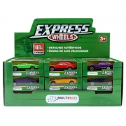 Carrinho Express wheels diversos 3+ anos - Multikids
