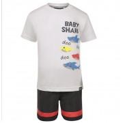 Conjunto Bermuda e Camiseta Baby shark - Vrasalon