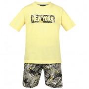 Conjunto Bermuda e Camiseta New York - Vrasalon