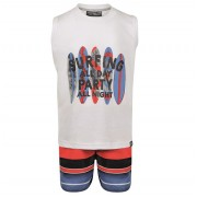 Conjunto Bermuda e Camiseta regata Surfing - Vrasalon