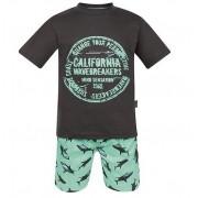 Conjunto Bermuda tubarões e Camiseta California - Vrasalon