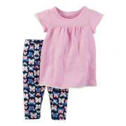 Conjunto legging borboletas e túnica - Carter's