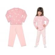 Conjunto pijama de soft ursinha - Vrasalon