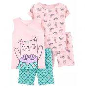Conjunto pijamas sereia - Carters