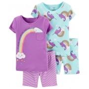 Conjunto pijamas verão baleia narval - Carters