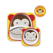 Conjunto prato raso e tigela Macaco - Skip Hop