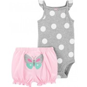 Conjunto short e body bolas - Carters