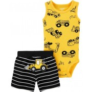 Conjunto short e body construtor - Carters