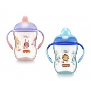 Copo de treinamento com bico semi-rígido First Moments 270ml (6M+) Fisher-Price