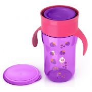 Copo natural 360 graus roxo 340 ml 12m+ Avent