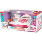 Creative Fun caixa registradora mini shopping rosa 4+ anos - Multikids