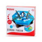 Jogo Derruba pinguim 5+ anos - Dican
