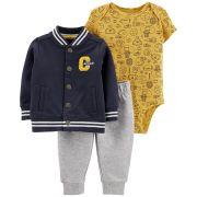 Kit 3 peças com jaqueta Captain - Carters