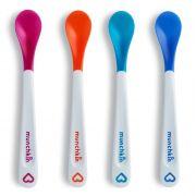 kit 4 colheres termo sensíveis White Hot® - Munchkin