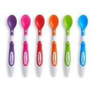 Kit 6 colheres Soft-Tip coloridas 3M+ Munchkin