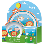 Kit refeição Happy Friends - Buba
