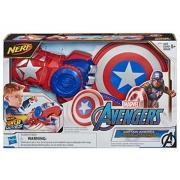 Lançador Power Moves Capitão América 5+ anos - Hasbro