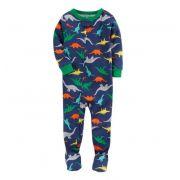 Macacão azul dinossauros - Carter's
